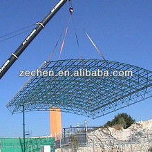 Cost saving light structure roof design