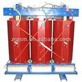11kv 1250 kva tipo seco de tres fases del transformador
