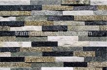 External Mix color culture slate tiles for villa