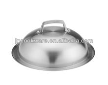 32cm wok lid stainless steel lid food cover
