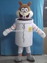 adult sandy cheeks mascot costume