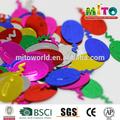 mtlp-- cr006 الألوان المعدنية شكل رقائق بالون
