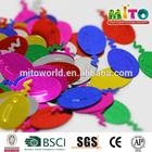 MTLP-CR006 metallic colors balloon shape confetti