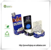 PDQ business card holder paper/cardboard display for booklet/brochure/pamphlet holder