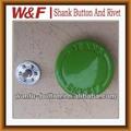 De metal botón de los pantalones vaqueros con el plástico en el interior, Los pantalones vaqueros de botón de presión botones