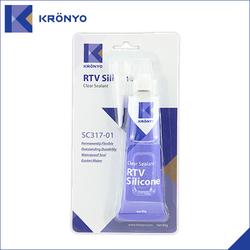 Super high Temperature RTV Silicone glue sealant SC317-01 85ml