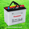Yuasan Nicest and Most Reliable Lead Acid Car Battery Manufacture -- NS60L 12V45AH