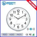 نظام أمن الوطن 2-32g بطاقة الذاكرة وظيفة wifi كاميرا فيديو خفية ساعة حائط كاميرا( bs-- 734)