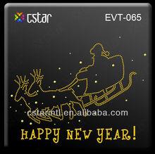 Custom motifs,Happy New Year, Hot Fix Motif Design