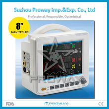 CE Approved Medical Equipment:PPM-Y8000F Portable Multi-parameter Patient Monitor