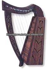 mini rosewood harp 9 cordas