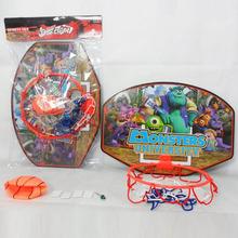 Monsters University plastic basketball backboard for kids
