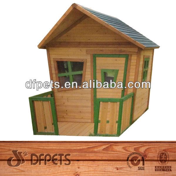 kinder spielhaus aus holz f r den au enbereich kinder holz. Black Bedroom Furniture Sets. Home Design Ideas