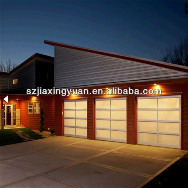 automatische aluminium glas garagentor platten preise t r. Black Bedroom Furniture Sets. Home Design Ideas