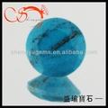 Venta caliente todo el azul turquesa en forma de piedras( turd0001- 6mm)