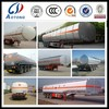 3 axles wheels aluminum or stainless steel 45000L tank semi trailer for sale