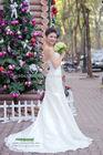 The Elegant Chiffon Trumpet Wedding Dress design by Viet Nam