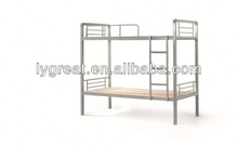 cheap dormitory metal bunk bed with stair