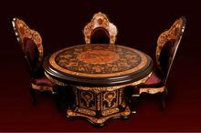 Decorative Wooden Art Of Iran- Arty Dining Table - Iran Wood Handicraft