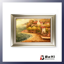 sea landscape oil painting/3d oil painting on canvas/canvas paintings
