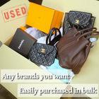 [purchasing in bulk] Used FENDI 2wayhandbag PEEKABOO Leather second hand beige