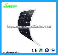 120 watt monocrystalline flexible photovoltaic solar panel