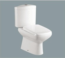 Ceramic Washdown Chinese Two Piece WC Toilet