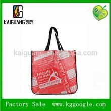 yiwu kaiguang bag factory Fashion new cheap women's bag non woven bag