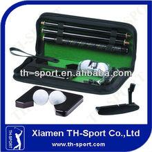 mini executive wooden shaft office golf putter set