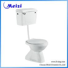 Ceramic bathroom two piece toilet bowl dimensions