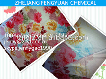 microfiber 100%polyester material peach skin fabric brushed printing fabric for home textile