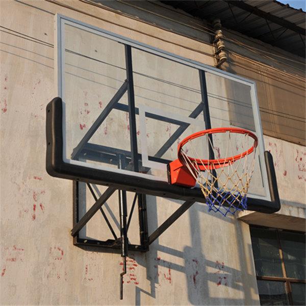 steel frame alumimum faces Tempered insulation glass basketball backboard