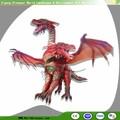 Dragon Rouge Animatronic pour Décoration de Dragon Nouvel An Chinois