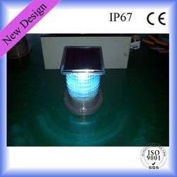 Flashing LED Solar Traffic Warn Light