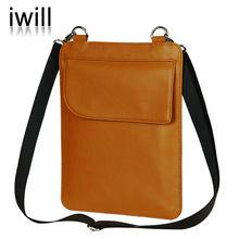 pure leather hand bag for apple ipad, fashion leather bag for ipad 2/3/4
