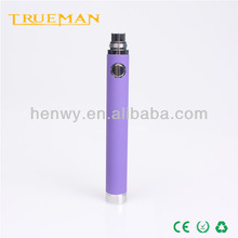 Import external interface electronic cigarette evod battery with 65090011001300mah ego electronic cigarette
