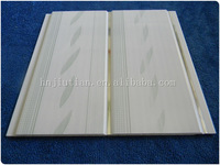 building material Groove PVC Panel and pvc ceiling plastic tiles roof plastic tiles for bathroom walls