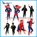 poliestere eroe costumi di spiderman per bambini halloween