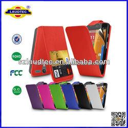 Newest Design Model Leather Case for MOTO G Case