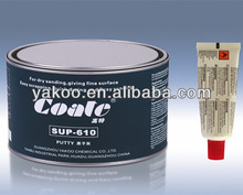 Lightweight Alloy Polyester Putty/Car Body Filler