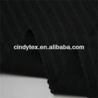 drapery softness yarn dyed polyester viscose spandex stretch fabric