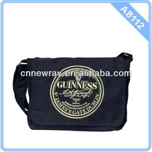 2015 Custom Wholesale Mens Cross Strap Canvas Messenger Bag