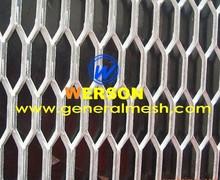 Aluminium expanded automobile grille mesh -hexagonal aperture