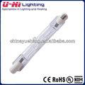 R7s 78mm lámpara halógena, sobre doble lámpara halógena, bombilla de 100w
