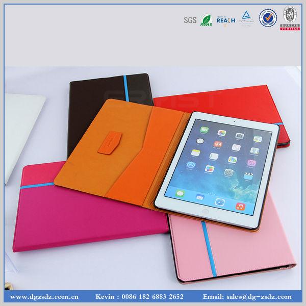 Caso de telefone produção fabricante eco friendly capa de couro Pu para ipad mini 5