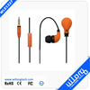 colorful plastic stereo earphone case shenzhen headphone in ear earphone
