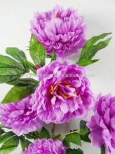 Wholesale high qulity silk peony flower