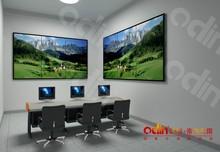 3x3 ultra narrow bezel video wall