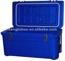 120L plastic roto molded ice cooler box.