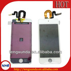 new arrival for ipod touch 5 lcd screen assembly black and white